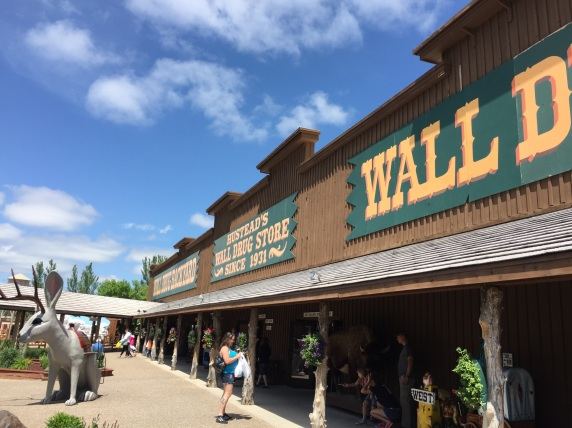 Three pics of Wall Drug in Wall, SD